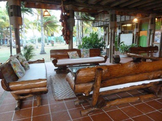 Punta Faro : area de descanso