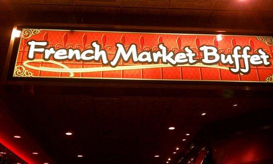 French Market Buffet : Exterior