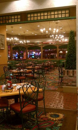 French Market Buffet : Seating Area