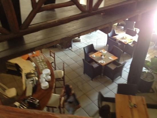 Hotel Riviera del Sol: Area de bar y restaurante
