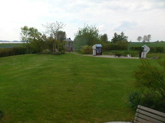 Hotel Der Wilde Schwan: View from Living Room