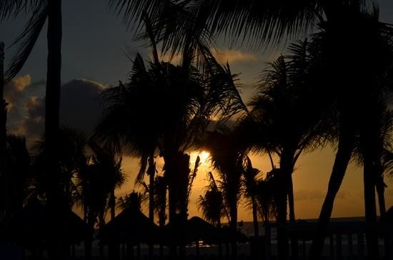 Sandos Playacar Beach Resort: beutiful sunrise