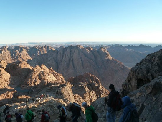 Seeing the sunrise from the top of Mount Sinai - Review of