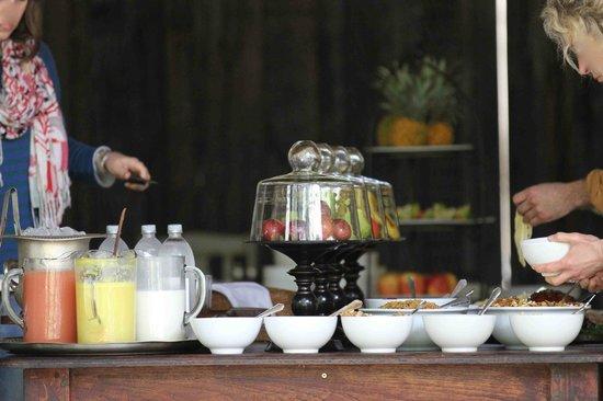 andBeyond Ngala Safari Lodge: the breakfast table