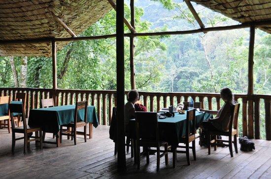 The Buhoma Community Rest Camp: Restaurant