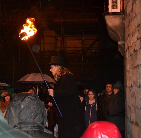 The Trevor Rooney Ghost Walk of York : Hallowe'en 2012