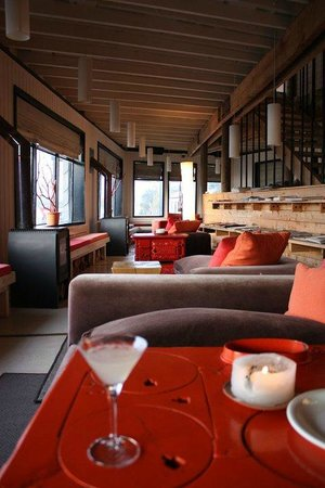 Noi Indigo Patagonia: La sala bar e zona relax