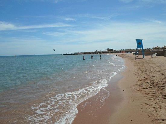 Titanic Resort & Aqua Park : Playa limpia y Mar limpio