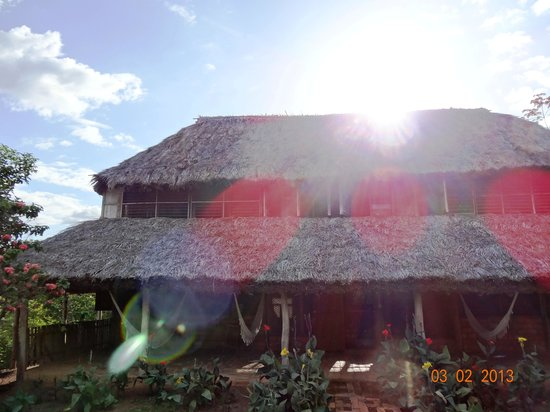 Caiman House Field Station: Building with the guest rooms