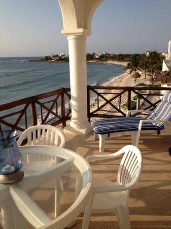 Playa Caribe: balcony of #8