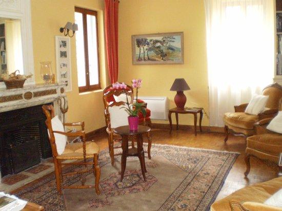 Hotel La Bastide du Bois Breant : Salon