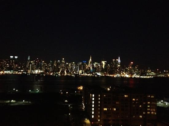 Weehawken, Nueva Jersey: NYC at night