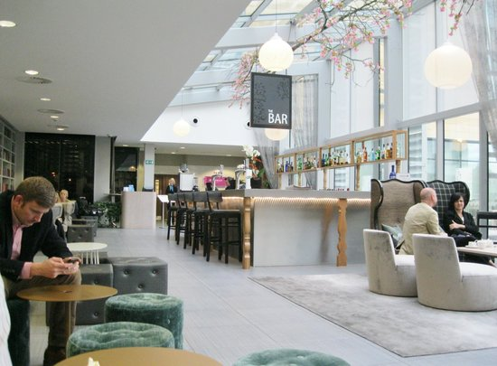 Radisson Blu Hotel, East Midlands Airport: Bar area