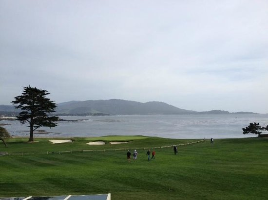 The Lodge at Pebble Beach: View from patio bar