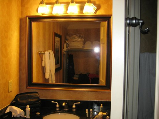 Lodge Alley Inn: Bathroom Studio # 214