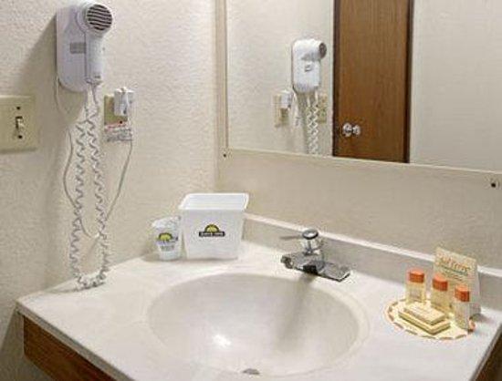 Days Inn Greenwood SC : Bathroom