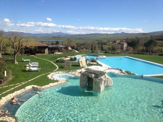Salus per aquam - Picture of ADLER Spa Resort Thermae, Bagno Vignoni ...