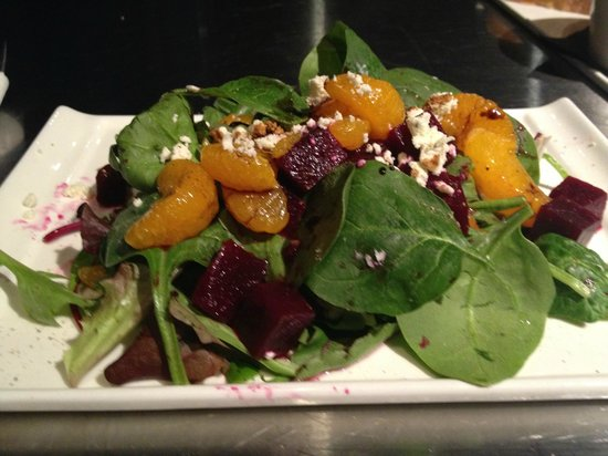 Victoria's Espresso Wine Bar : Wonderful salads
