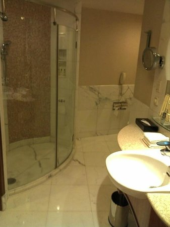 Shangri-La Hotel, Beijing: Walk-in shower with great water pressure