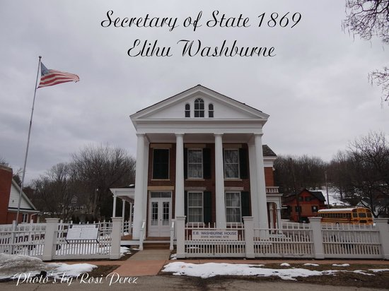 Aldrich Guest House : Elihu Washburne's House, Secretary of State 1869