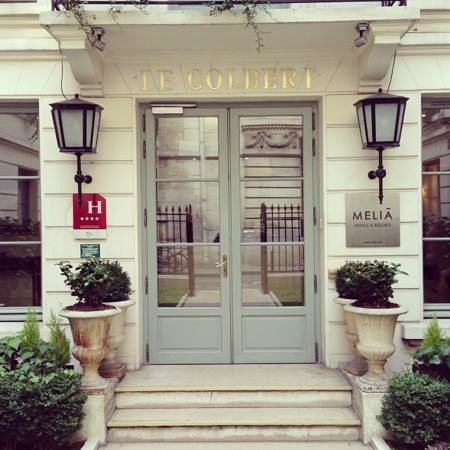 Melia Colbert - Paris: main entrance