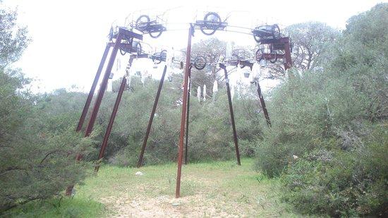 Montenmedio Golf & Country Club: Escultura de Pascale Marthine Tayou
