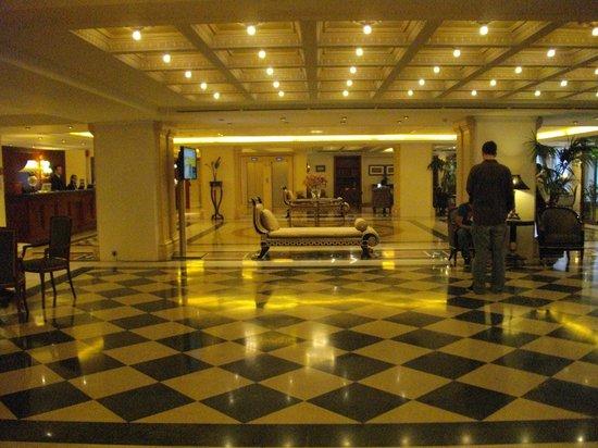 Electra Palace Athens: El amplio salón de recepción