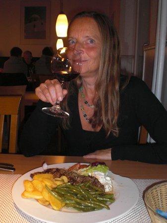 Restaurant Delphi: ...griechischer Wein