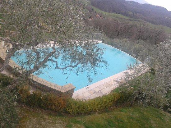 Villa la Borghetta Spa Resort : la piscina