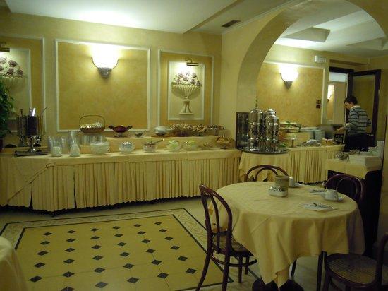 Hotel Corona D'Italia: Frühstücksbuffet