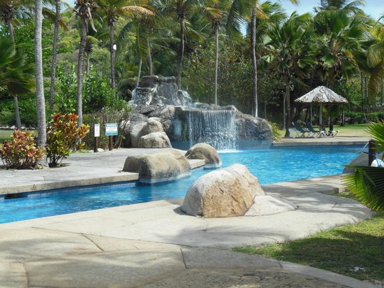 Palm Island Resort & Spa: good spot to play