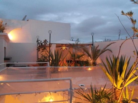 Riad Dar Thalge: la terrasse