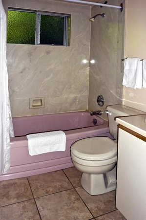 Robin Hood Motel: Bathroom in Suites