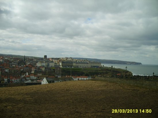 Sherwood Glen Guest House: Whitby view
