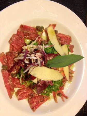 Estepa: Very nice carpaccio
