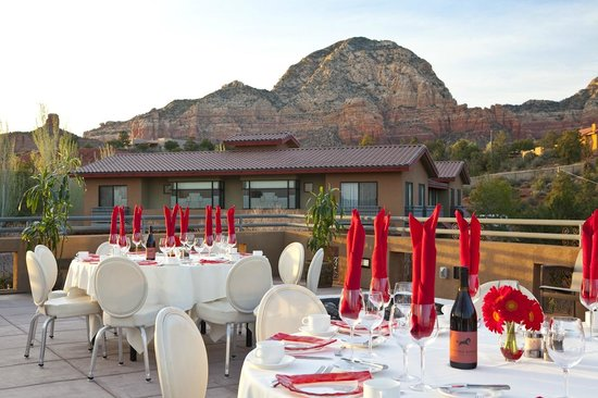 Sedona Rouge Hotel and Spa: Obervation Deck
