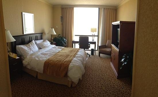 Jacksonville Marriott: Bedroom in the Andrew Jackson Suite