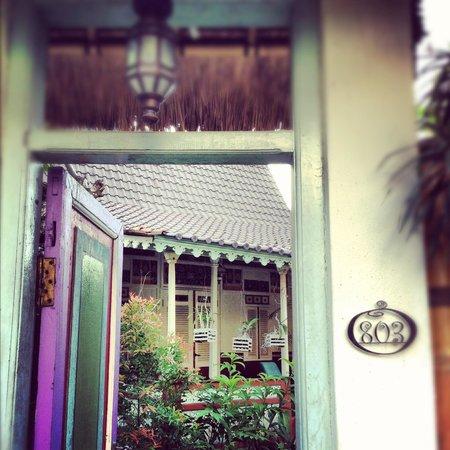 Hotel Puri Tempo Doeloe : ingresso della nostra villa