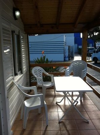 Bonterra Park Camping and Bungalows: terraza n9