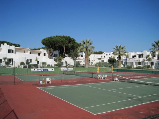 Tennis Courts at Balaia Golf Village