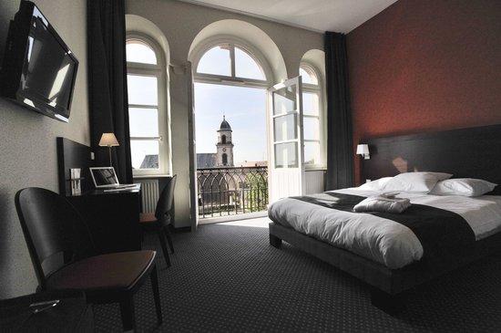 Saint-Hippolyte, Γαλλία: Chambre double