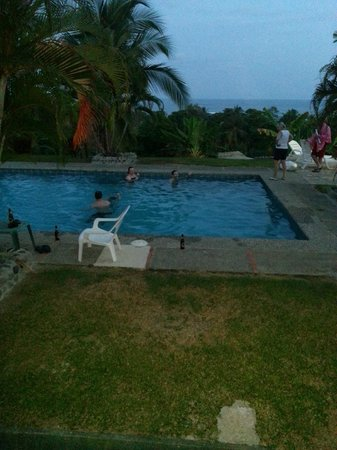 Apartamentos Iguanas: Nice evenings by the pool