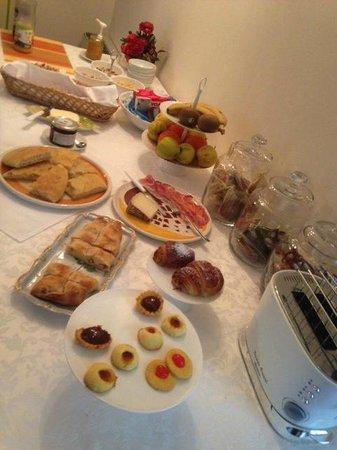 Fior di Farine : Breakfast table