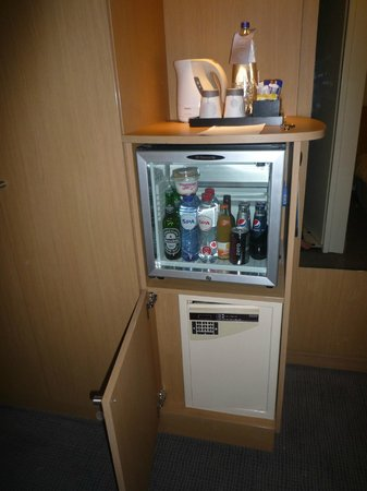Novotel Amsterdam City: frigo bar