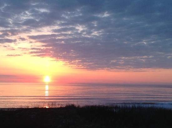 Hampton Inn & Suites Outer Banks / Corolla: sunrise in Corolla, NC