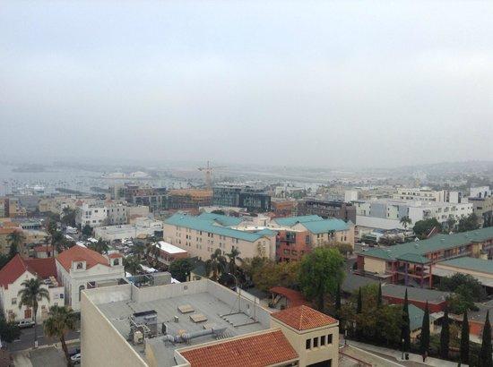 Doubletree Hotel San Diego Downtown: 部屋からの眺め