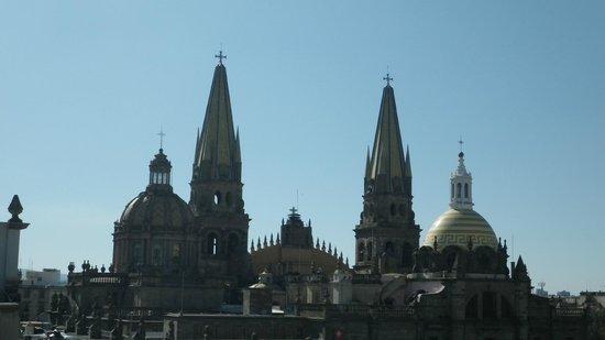Hotel Frances: Las Copulas de la Catedral desde la Terraza