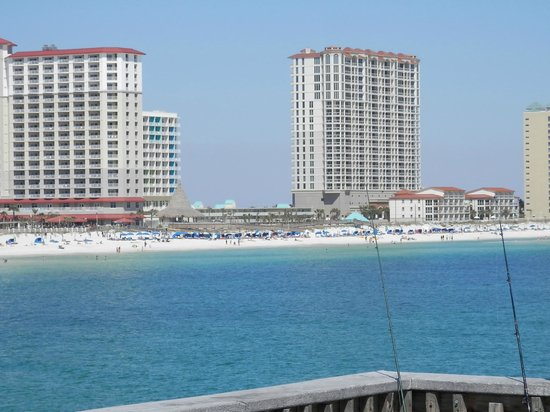 Pensacola Beach Gulf Pier: From the end of the pier