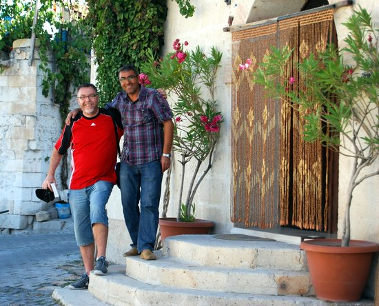 "Arch Palace Hotel: with Mustafa, the ""heart"" of Arch Palace"
