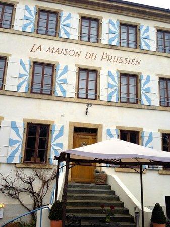 Hotel-Restaurant La Maison du Prussien : Entrée de l'hôtel